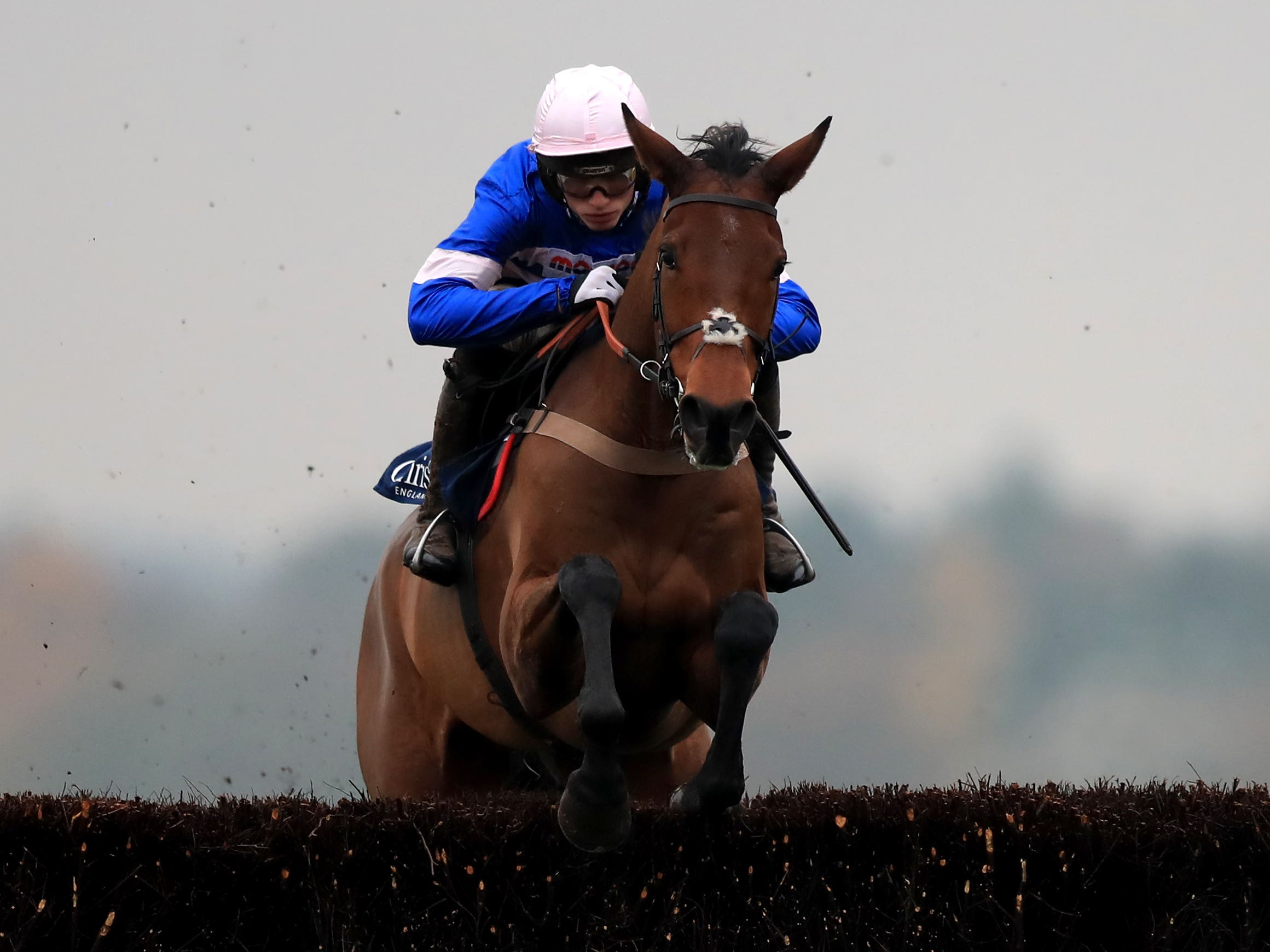 Cyrname is a hot favourite to claim back-to-back wins in the Ascot Chase (Simon Cooper/PA)