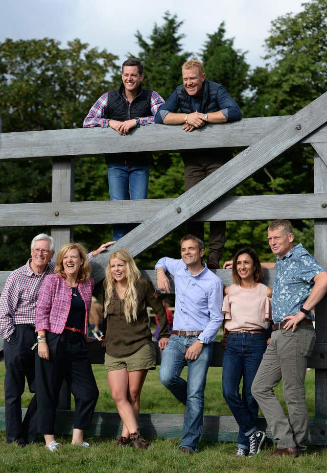 Tom Heap and his colleagues at BBC Countryfile Live
