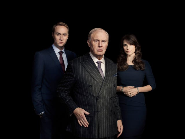 Tim Pigott-Smith and his co-star in King Charles III (Robert Viglasky/BBC)