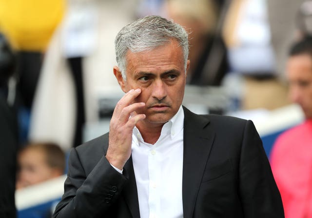 Jose Mourinho denied any rift with executive vice-chairman Ed Woodward on Friday (Gareth Fuller/PA).
