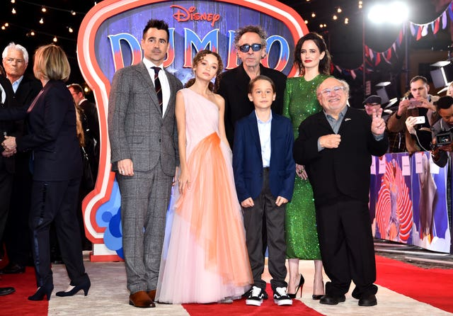 Dumbo European Premiere – London