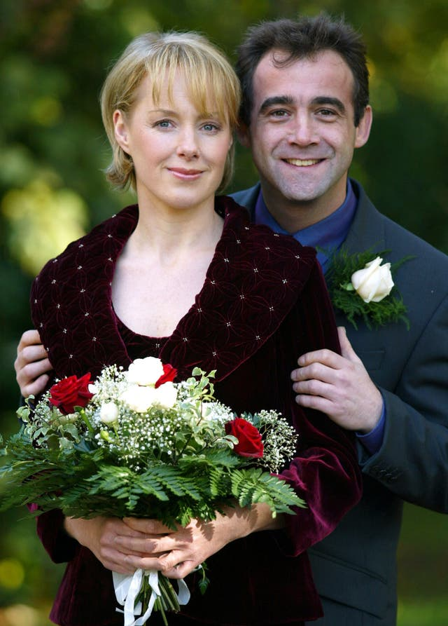 Coronation Street actors wedding
