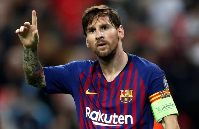 Lionel Messi file photo