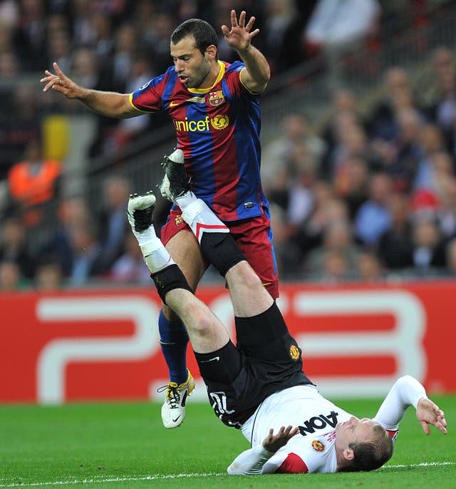 Soccer – UEFA Champions League – Final – Barcelona v Manchester United – Wembley Stadium