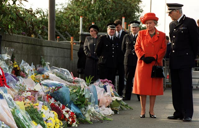 Queen Elizabeth II at Site of the Paddington – London