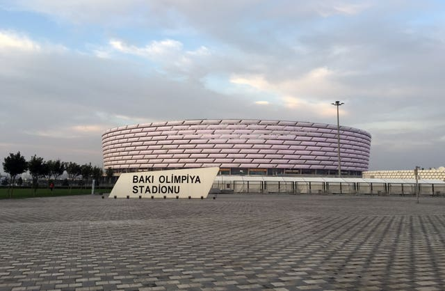 A general view of the Baku Olympic Stadium. (PA)