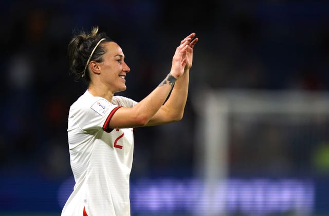 Lucy Bronze scored a fantastic goal against Noway in the quarter-finals