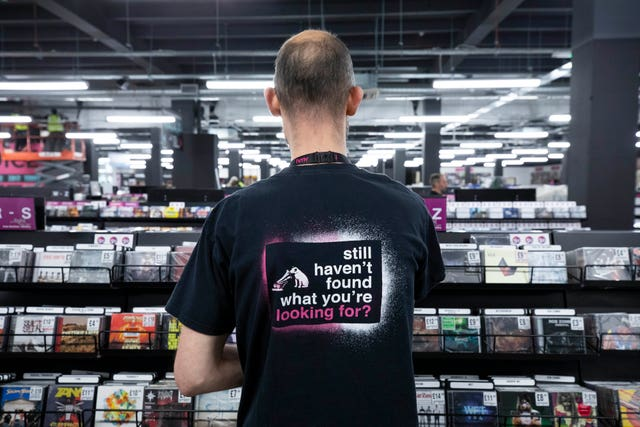 hmv Vault launch