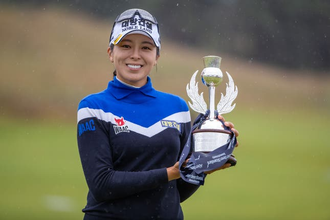 South Korea's Mi Jung Hur claimed her third LPGA Tour title with a brilliant final round in the Aberdeen Standard Investments Ladies Scottish Open