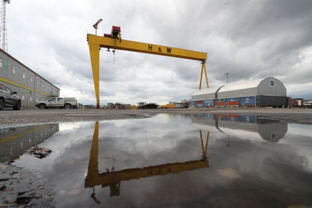 Harland and Wolff shipyard in administration