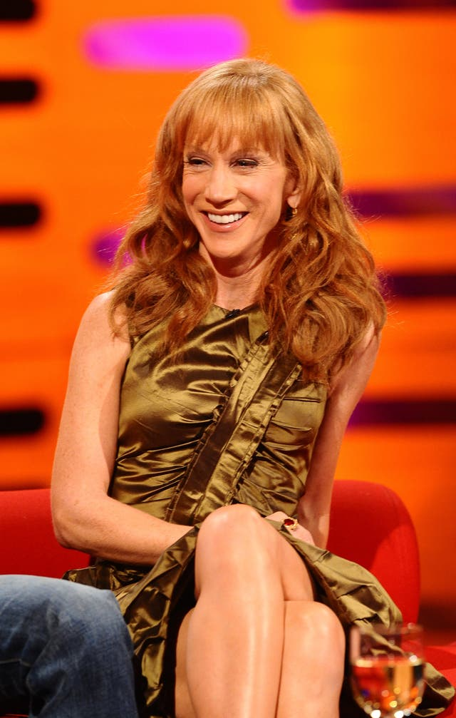 Kathy Griffin promises to 'not hold back' on comedy world ...