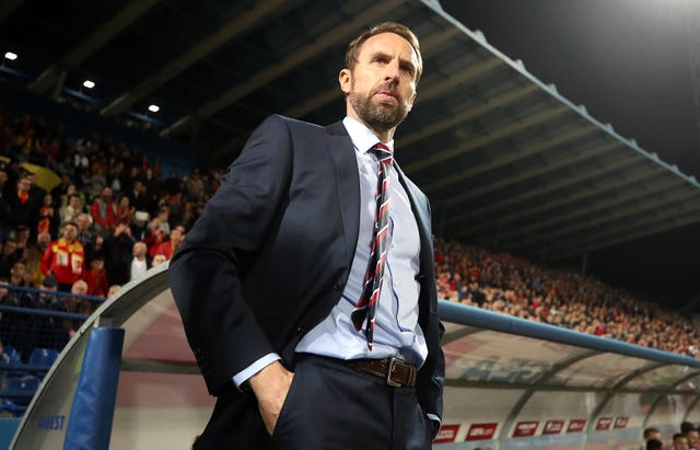 Gareth Southgate was saddened by abuse directed at his players