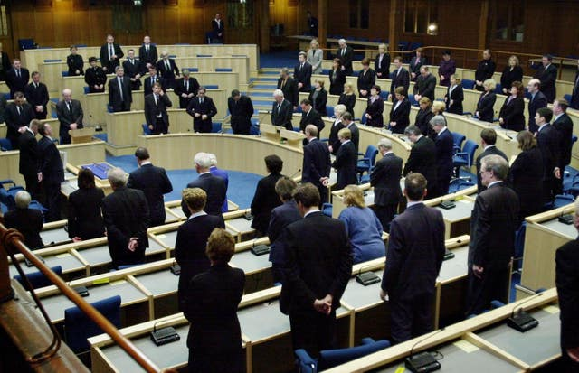 The Scottish Parliament in 2002