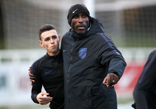Campbell recently coached in the England Under-21 setup