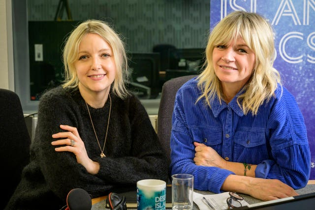 Lauren Laverne and Zoe Ball are both expected to feature