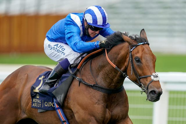 Battaash finally came home in front in the King's Stand Stakes