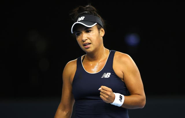 Heather Watson won her 22nd singles match in the competition