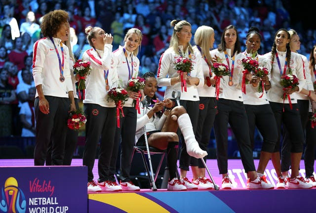 Tracey Neville's team were 58-42 victors to finish third in the World Cup
