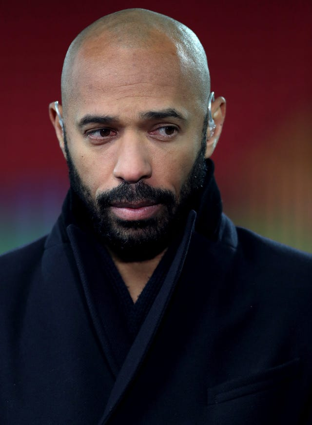 "Thierry Henry has described current levels of racism and bullying on online platforms as ""too toxic to ignore"" (Richard Sellers/PA)."