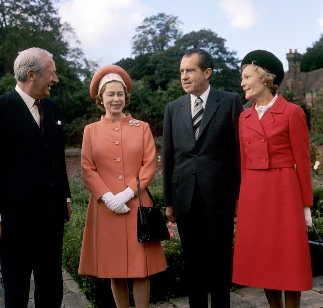 Ted Heath and the Queen