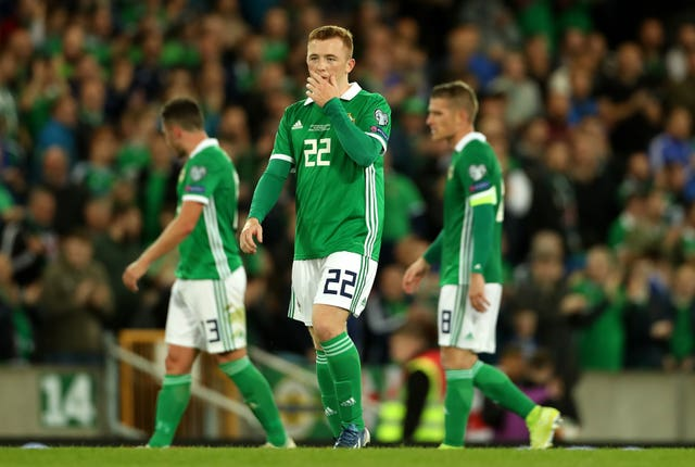 Northern Ireland had their chances against Germany