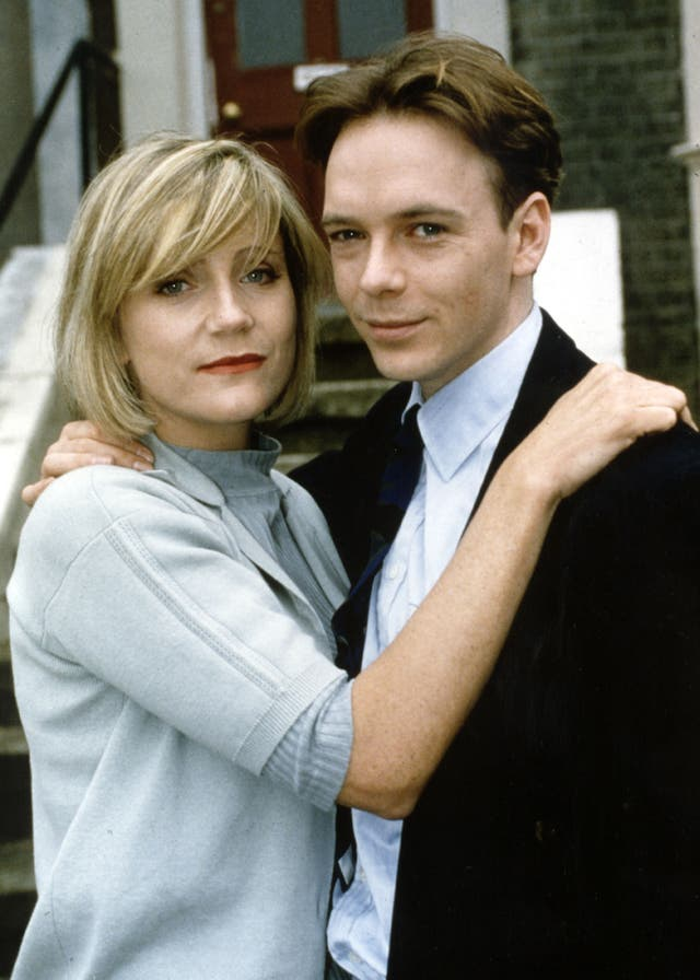 Cindy (Michelle Collins) and Ian Beale (Adam Woodyatt) in EastEnders