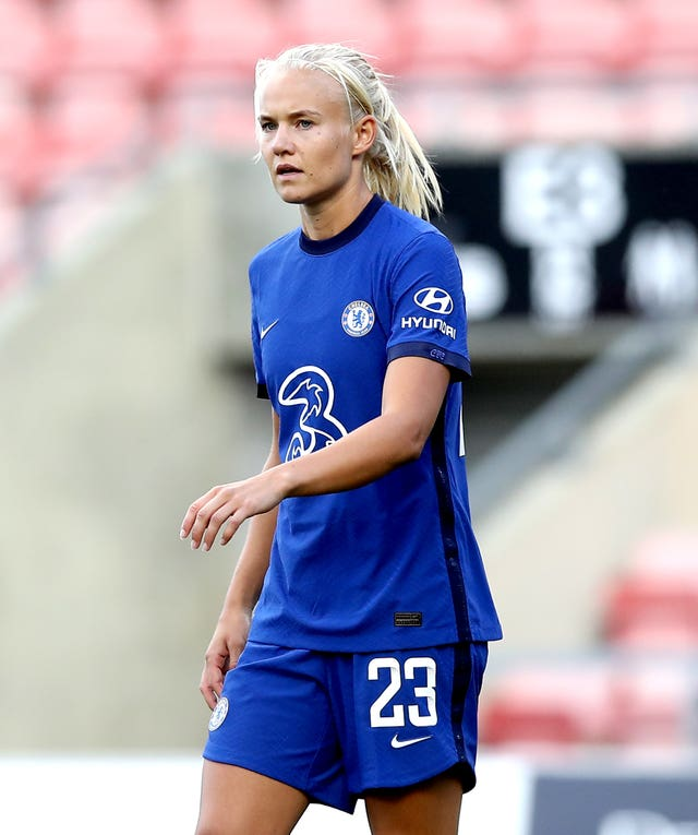 Chelsea have signed Pernille Harder