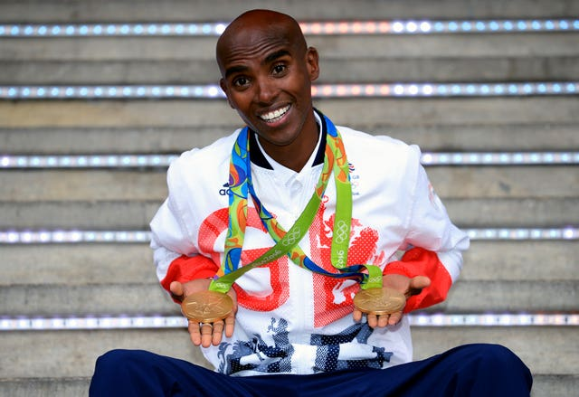 Sir Mo Farah is a four-time Olympic champion (Mike Egerton/PA)