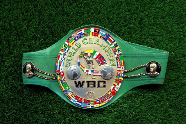The WBC is one of the four major sanctioning bodies in boxing (Steve Parsons/PA)