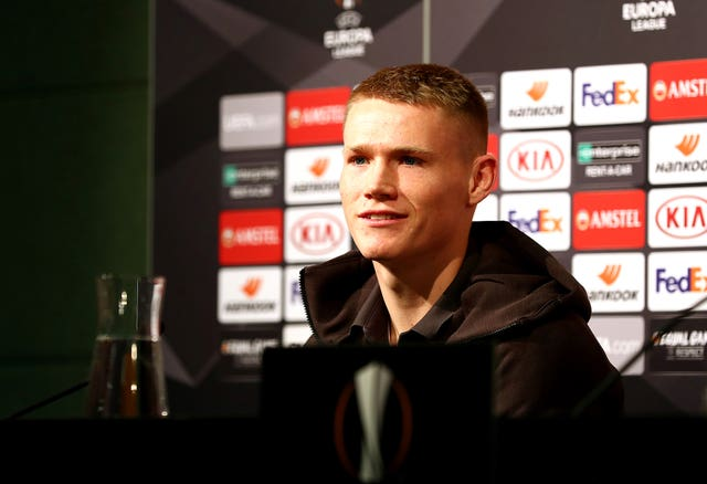 Scott McTominay is prepared for the challenge