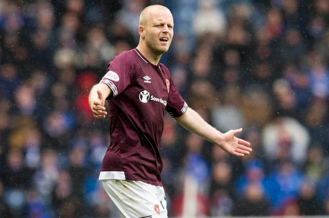 Steven Naismith joined Hearts on a permanent deal in the summer