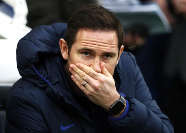 Frank Lampard's Chelsea face Nottingham Forest in the FA Cup