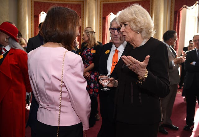 Duchess of Cornwall hosts reception for London Taxi Drivers' Charity
