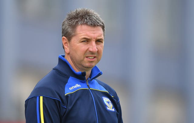 Warrington head coach Steve Price