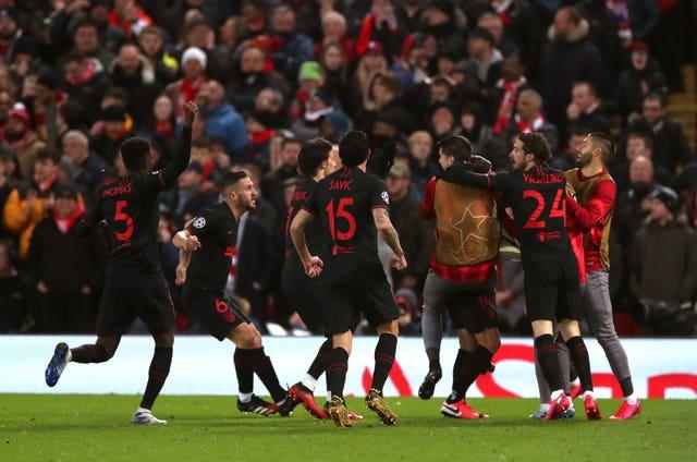 Liverpool v Atletico