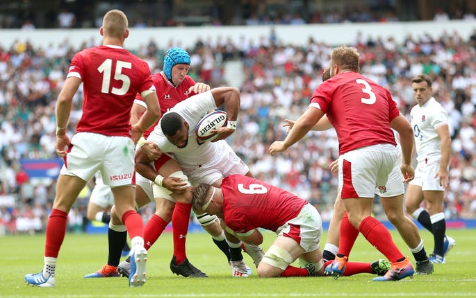 Ludlam shone on his England debut against Wales on Sunday