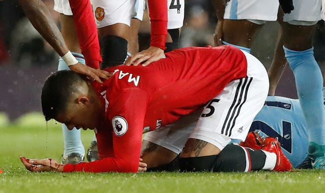 Rojo's time at Old Trafford has been plagued by injury