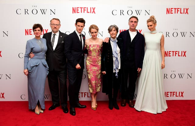The Crown Premiere – London