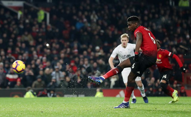 Paul Pogba was annoyed by Manchester United's display on Tuesday