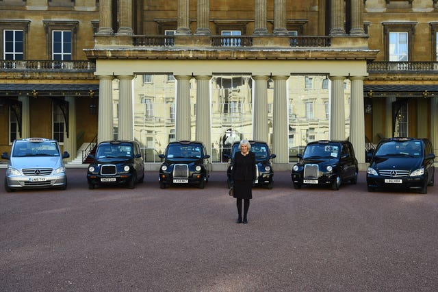 Duchess of Cornwall hosts reception for London Taxi Drivers� Charity