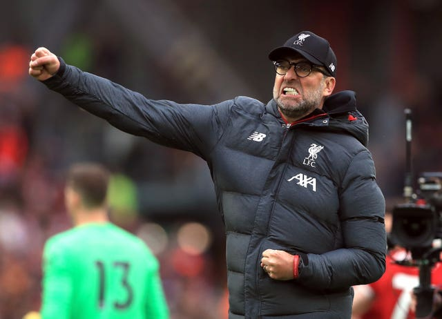 Jurgen Klopp's Liverpool had lost three out of four games before beating Bournemouth (Mike Egerton/PA).