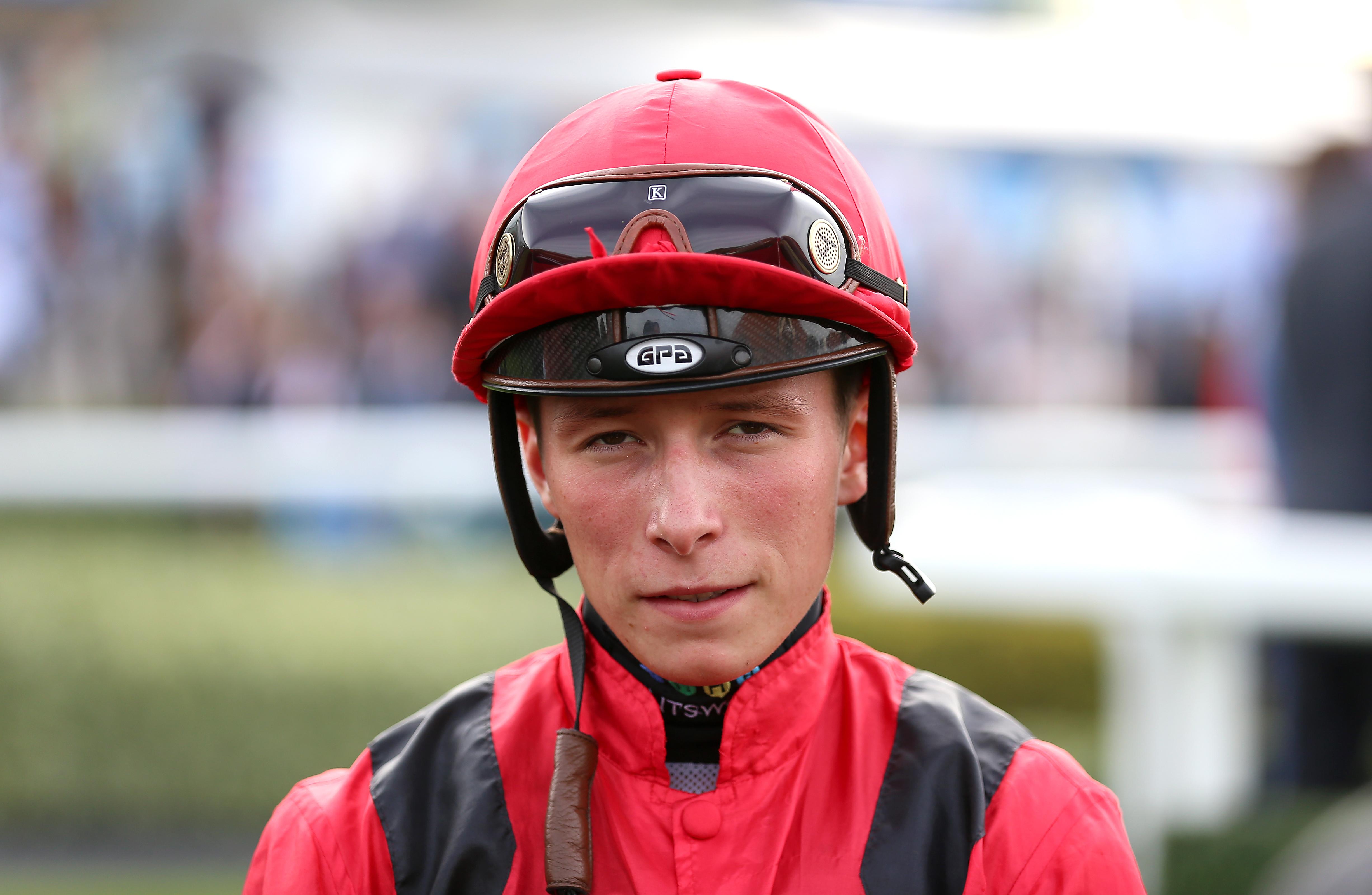 Jason Watson is widely tipped as a future champion jockey