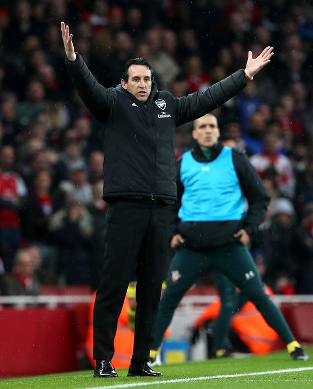 Arsenal manager Unai Emery is under pressure after his side's draw to Southampton