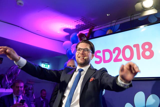 The Sweden Democrats leader