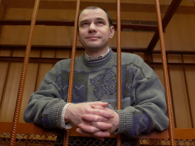 Igor Sutyagin was sentenced to 15 years for spying (AP)