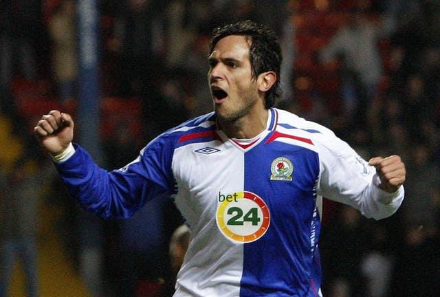 Roque Santa Cruz was Blackburn's player of the year for the 2007-08 season