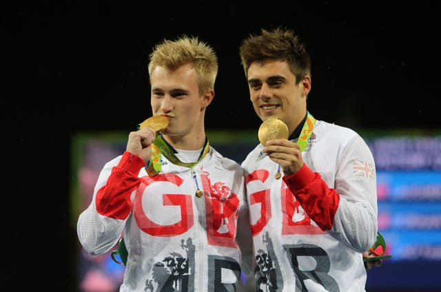 Jack Laugher, left, and Chris Mears won Great Britain's first Olympic diving gold in Rio