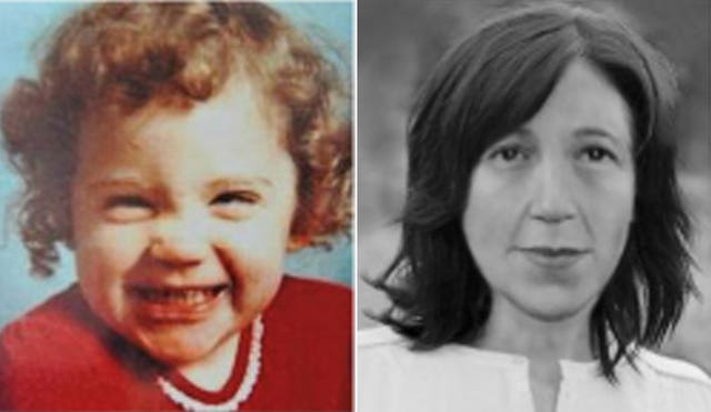 A photo of Katrice Lee as a toddler and an age-progressed image of how she could look now (Missing People/PA)