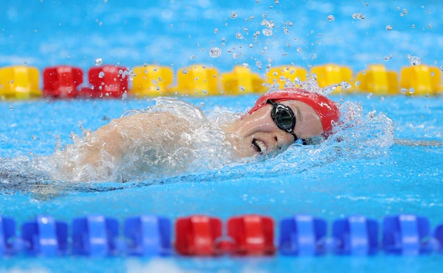 Ellie Simmonds in action in Rio