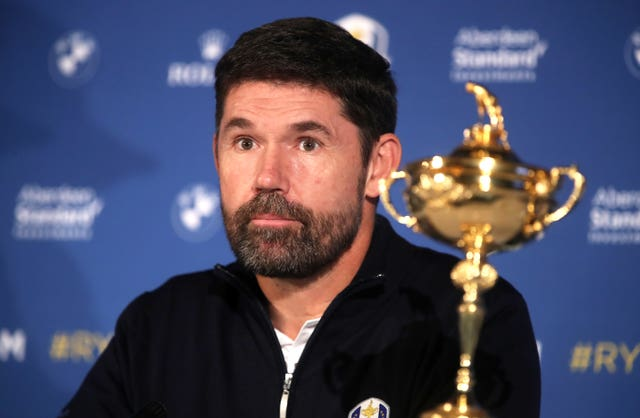 Padraig Harrington does not feel a decision needs to be made at this stage